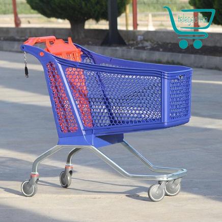 Купить пластиковую покупательскую тележку - H175 Hybrid POLYCART