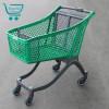 Пластиковая покупательская тележка - P100 Urban