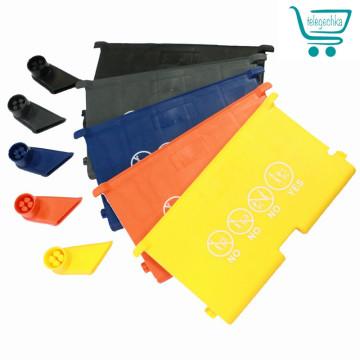 Комплект пластиковых элементов для покупательской тележки