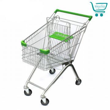 Покупательские тележки для супермаркета на 60 литров S