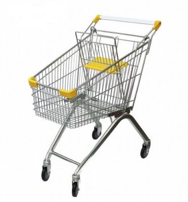 80 или 100 литровые тележки, для форматов гипермаркетов и супермаркетов от 2000м.квадратных