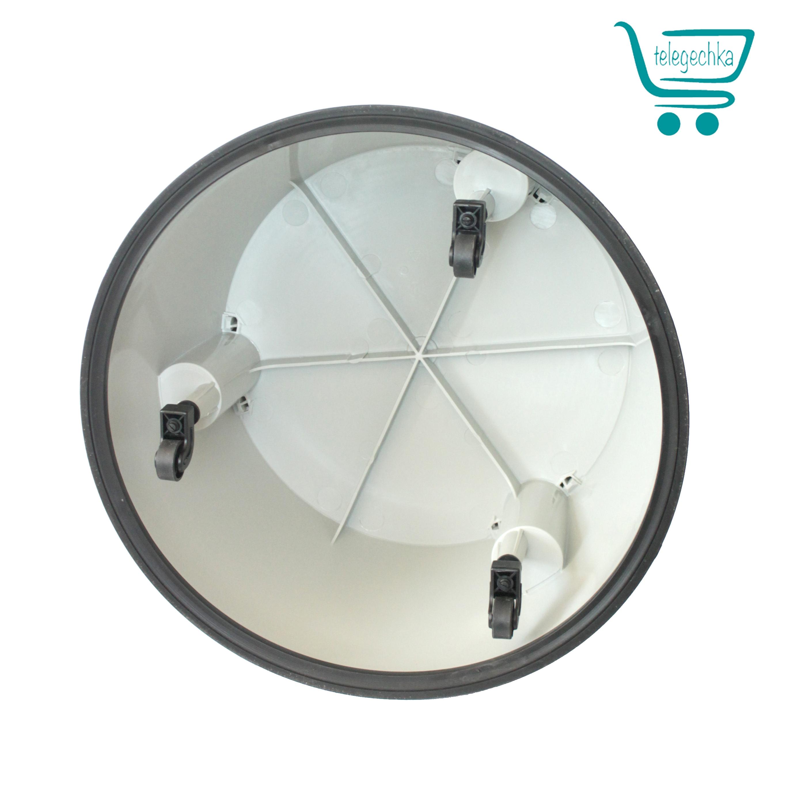 Пластиковая подставка на колесах для выкладки товара Stand 2