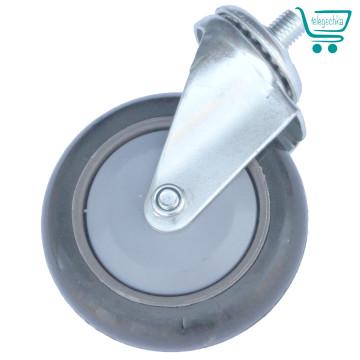 Колеса для покупательских тележек 100 мм