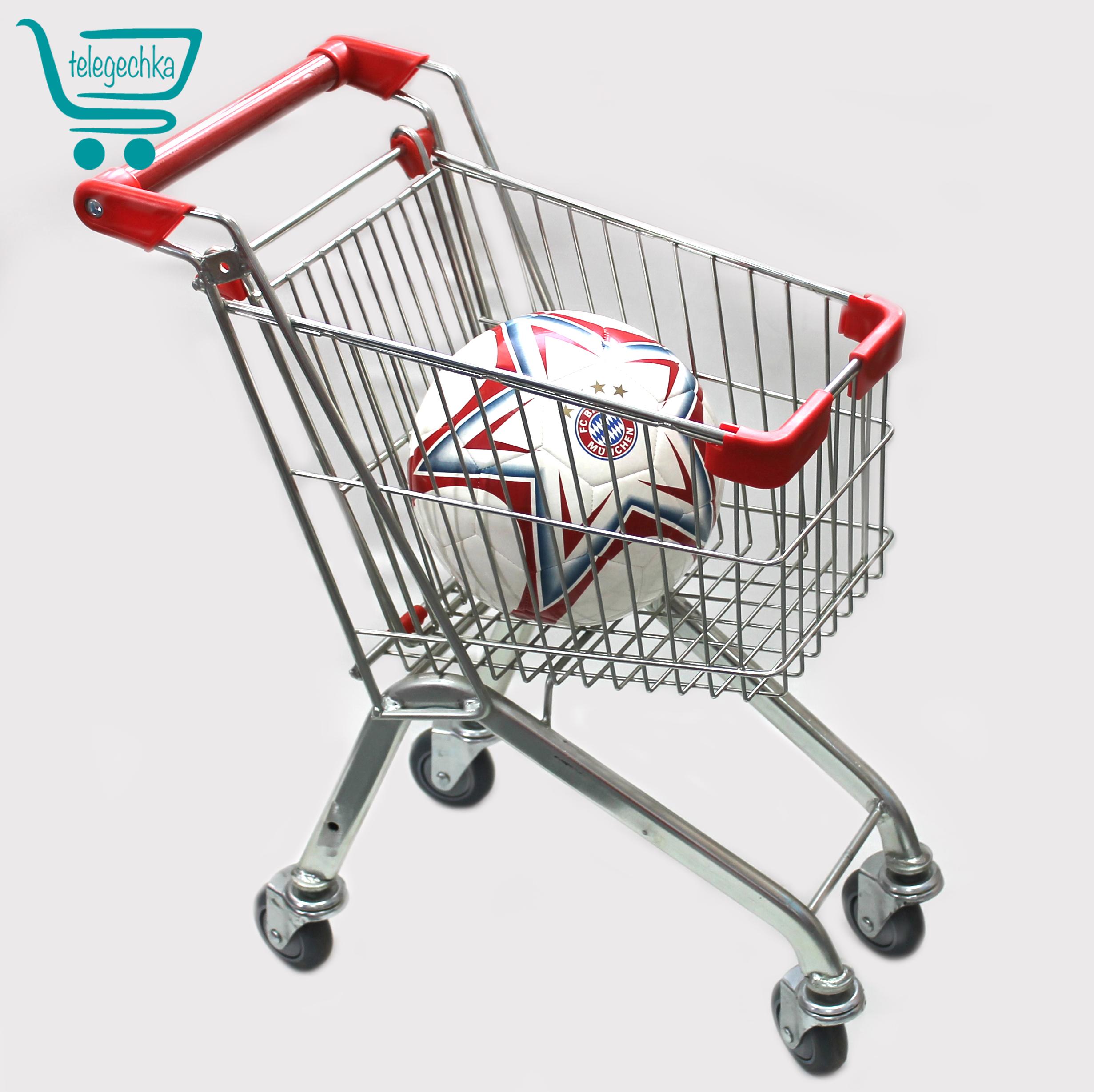 Детская тележка для супермаркета (маленька тележка для ребенка)