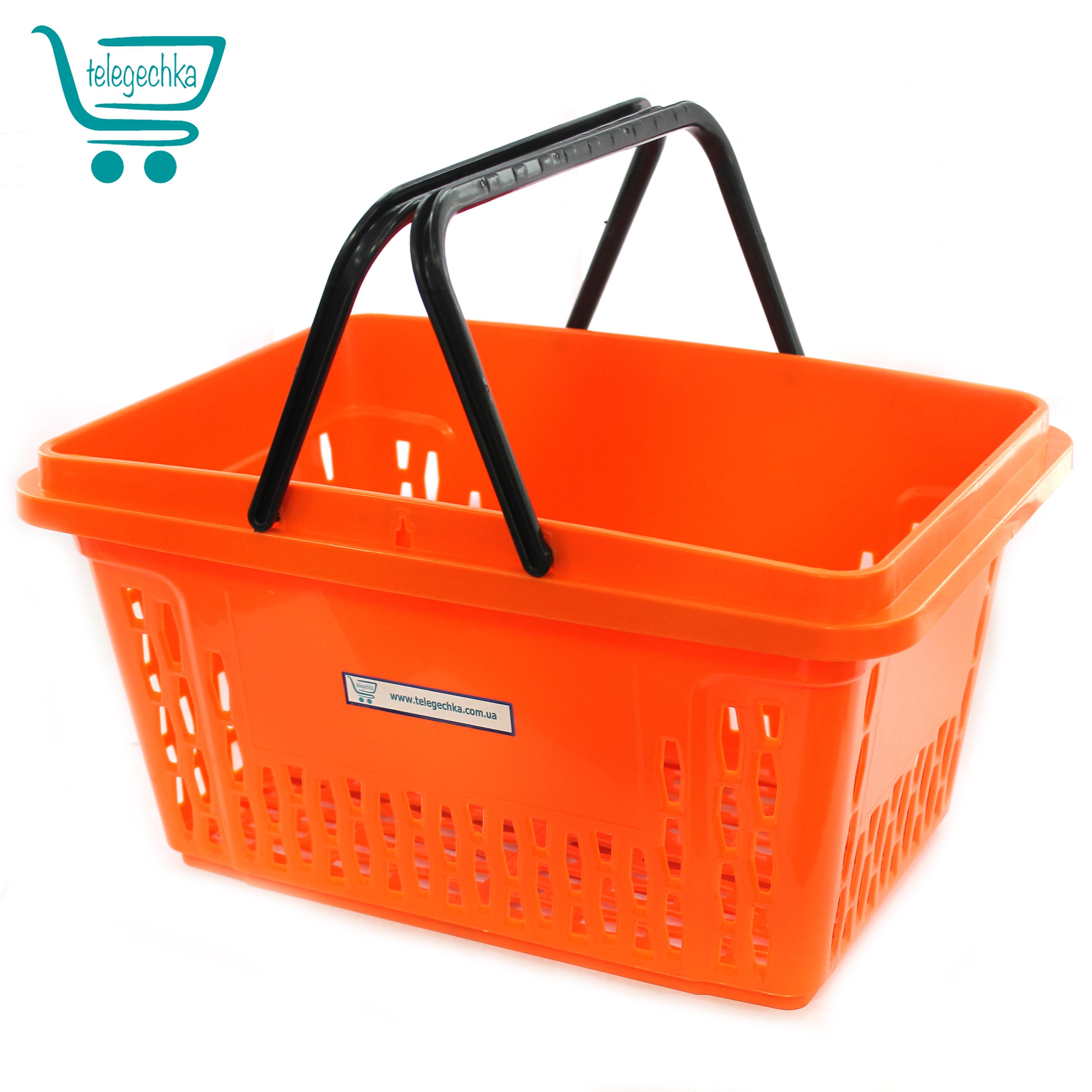 Покупательские корзины для супермаркета, корзины для магазина PLAST 20