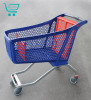 Тележечка - Пластиковая покупательская тележка c железной основой — H175 Hybrid POLYCART