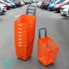 Пластиковая покупательская тележку-корзину - B65 Smooth Basket