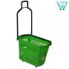 Покупательские корзины для супермаркета с колесами PLAST 30