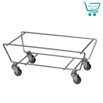 подставка для корзин, подставка для пластиковых корзина, подставка для металлисечкицх корзин, переноска для корзин