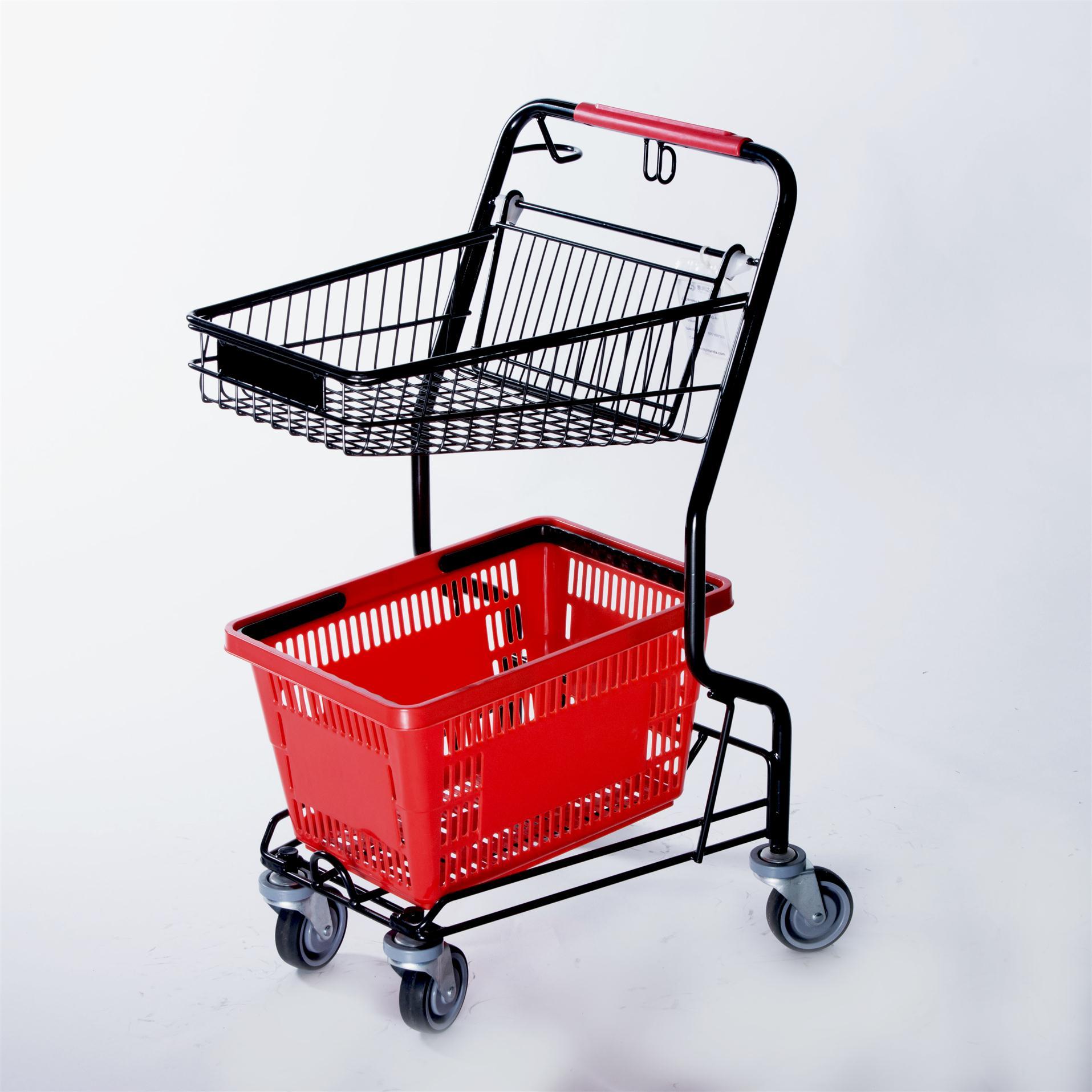 Тележки для корзин Модель — J 2 (Комбиноровання тележка)