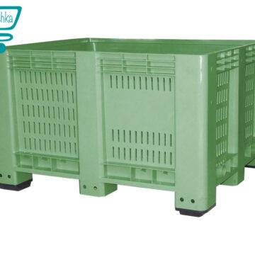 Пластиковый крупногабаритный контейнер с перфорацией Big Box 550 FPмммм