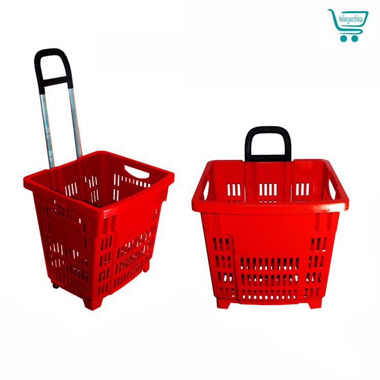 Покупательская корзина для супермаркета PLAST 55