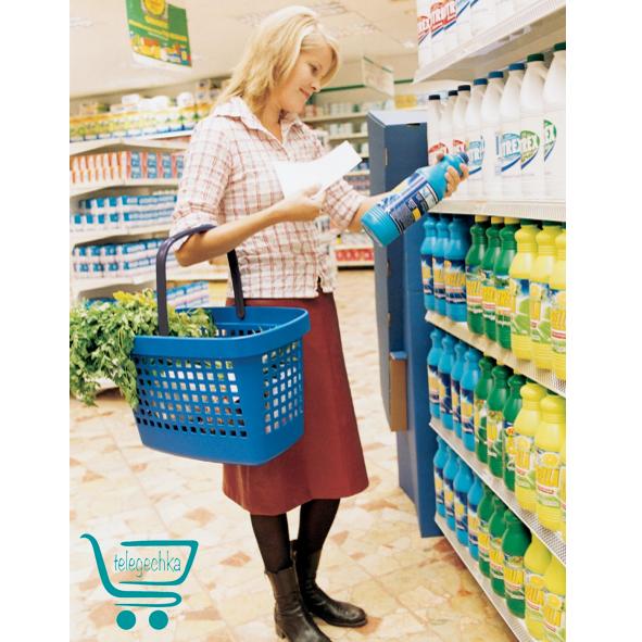 Покупательская корзина для супермаркета PLAST 28 GREAT
