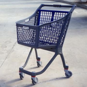 Пластиковая покупательская тележка - B 75 High Roller