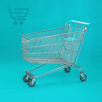 Покупательская тележка для супермаркета на 125 литров R