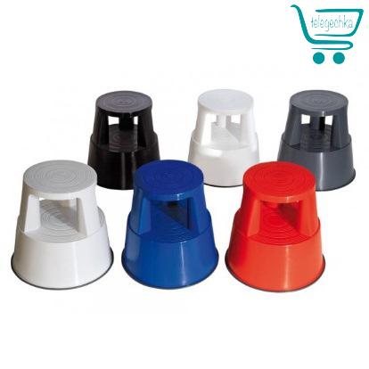 Пластиковая подставка на колесах для выкладки товара Stand