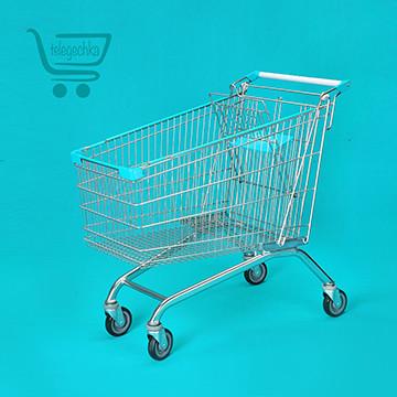 Покупательская тележка для супермаркета на 240 литров S