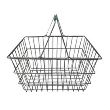 Покупательская корзина для супермаркетаПокупательская корзина для супермаркета хромированная W1